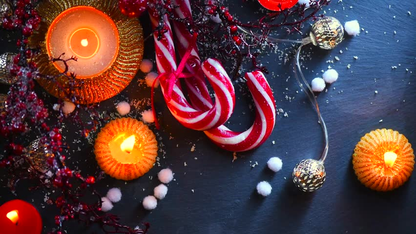 Christmas Holiday Food Background With Stock Footage Video 100