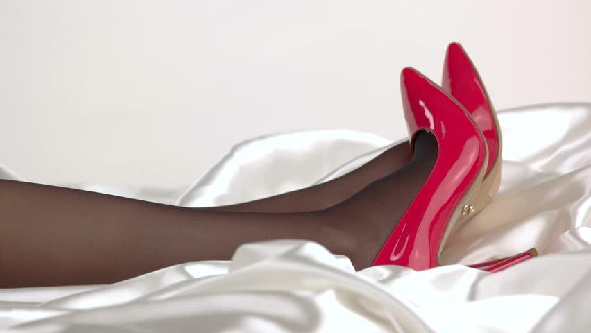 Footage Free21339346Shutterstock Wearing Legs Video100Royalty Heels TightsStock And BCxoeQrEdW