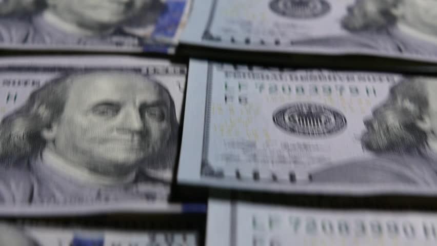 Cash Money Background Dollars   Shutterstock HD Video #21438886