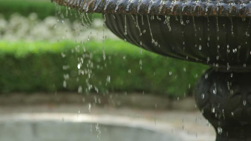 Park water fountain stream slow motion | Shutterstock HD Video #21465406