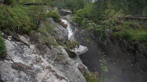 Waterfall slow-motion