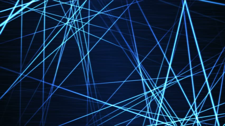 Moving through Light/Laser Beams Animation Animation - Loop Blue | Shutterstock HD Video #21521926