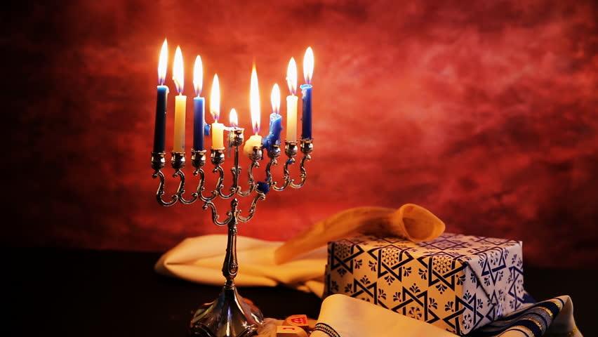 Jewish holiday hannukah symbols Lighting Hanukkah Candles Hanukkah celebration judaism menorah tradition - HD stock footage & Lighting Hanukkah Candles Hanukkah Celebration Judaism Menorah ... azcodes.com