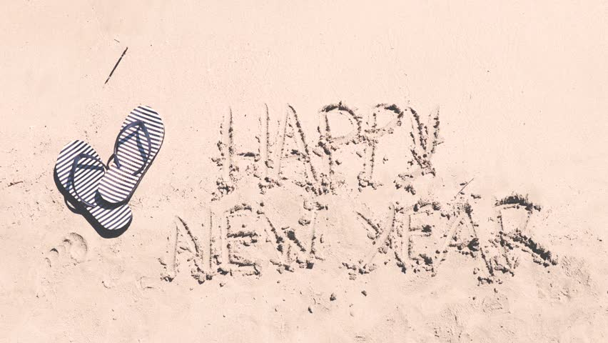 Stock video of happy new year writing on the   21795736   Shutterstock