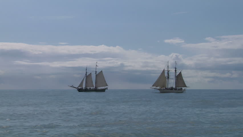a1632652210c Two Sailing Vessels Stock Footage Video (100% Royalty-free) 2187256 ...