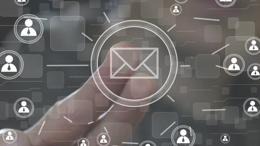 Business button messaging mail sending sign network | Shutterstock HD Video #21875416
