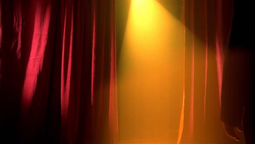 Opera singer takes bow