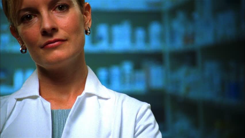 Portrait of pharmacist