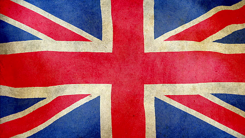 uk flag background  animated waving great britain flag abstract  background seamless looping