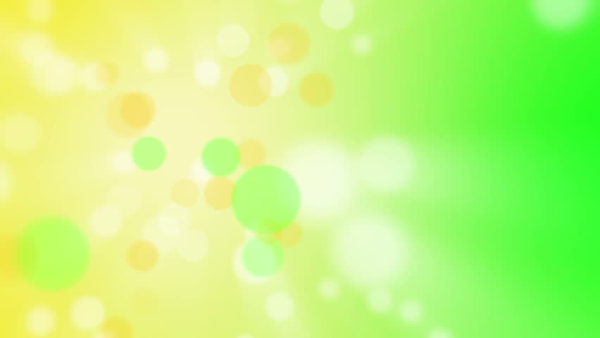 Abstract Background Spring Live Theme Particles Flying On The