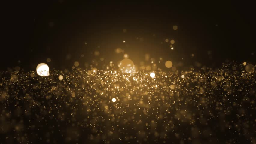 Background gold movement. Universe gold dust with stars on black background. Motion abstract of particles. VJ Seamless loop. | Shutterstock HD Video #22189471