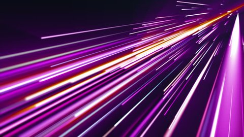 Purple light streaks. Abstract motion background. 4K, Ultra HD resolution. Loop ready animation. This clip is available in multiple other color options - check my portfolio.