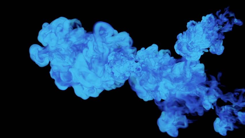 Blue Ink Drop in Water Stock Footage Video (100% Royalty-free) 22234816 |  Shutterstock