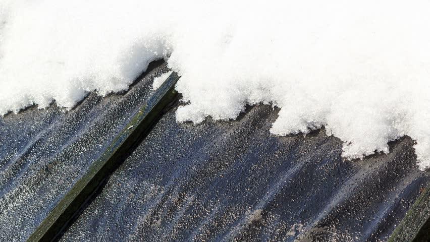 Snow melts in spring timelapse. | Shutterstock HD Video #22264306