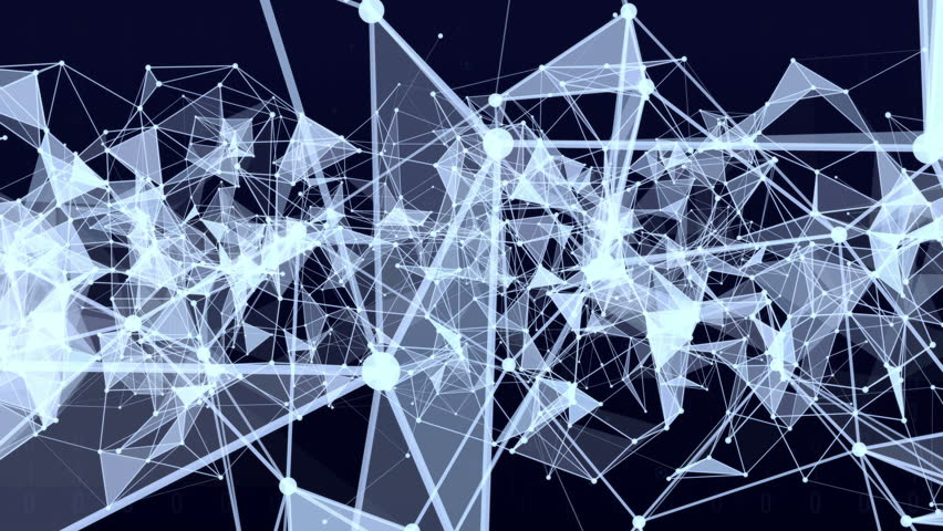 3D animation connection structure background with text Big Idea. | Shutterstock HD Video #22311736