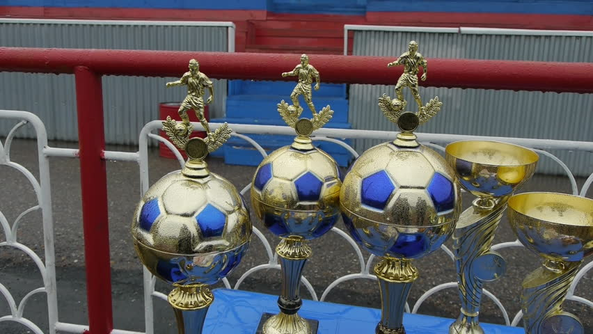 3cad35aee See also my; Golden soccer trophy. Cup in the form of ball players ...
