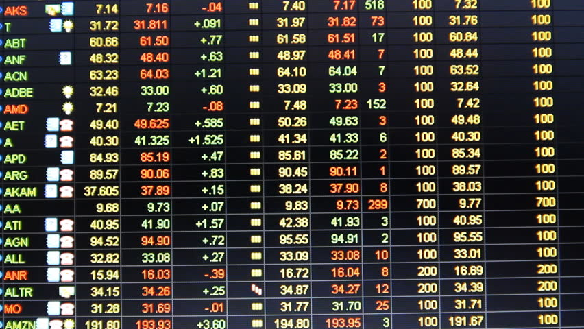 The American market. Stock quotes S&P 500   Shutterstock HD Video #2234932