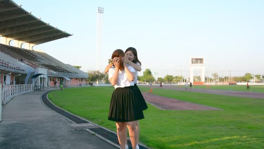 free thai college teen video