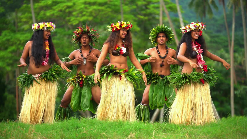 4ad65b712 Polynesian Men in Warrior Dress Stock Footage Video (100% Royalty-free)  22489456