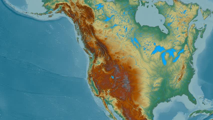 Zoom Into Rocky Mountain Range Stock Footage Video (100% Royalty-free)  22512106 | Shutterstock
