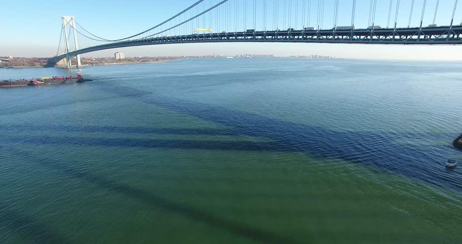 Verrazano–narrows Bridge Stock Footage Video (100% Royalty-free) 22616536 |  Shutterstock