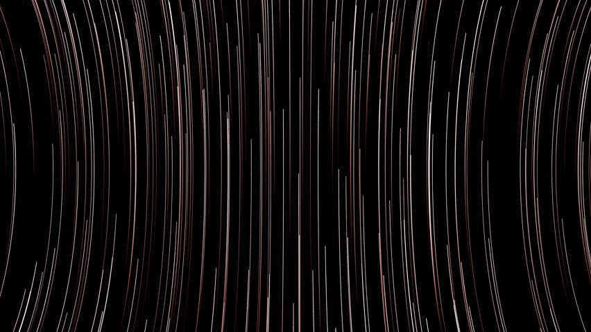 Abstract background with bend lines. 3d rendered. Seamless loop