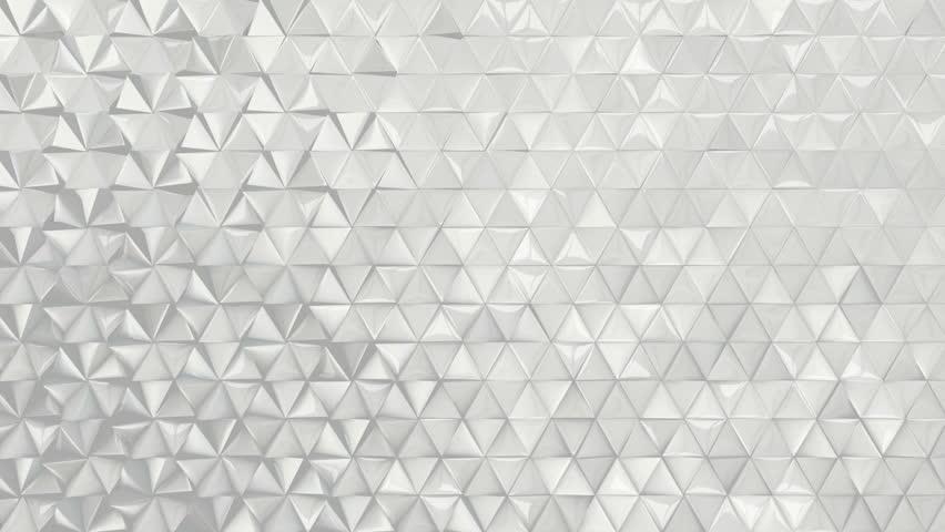 White Infinity Loop Luxury Background Stock Footage Video