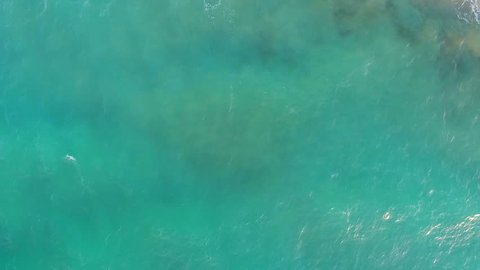 Aerial video, seashore, waves on the beach. About coast, sea, marine, water, boat, sunrise, landscape, rocks, cliffs, waves., Topography, topographic surveys.