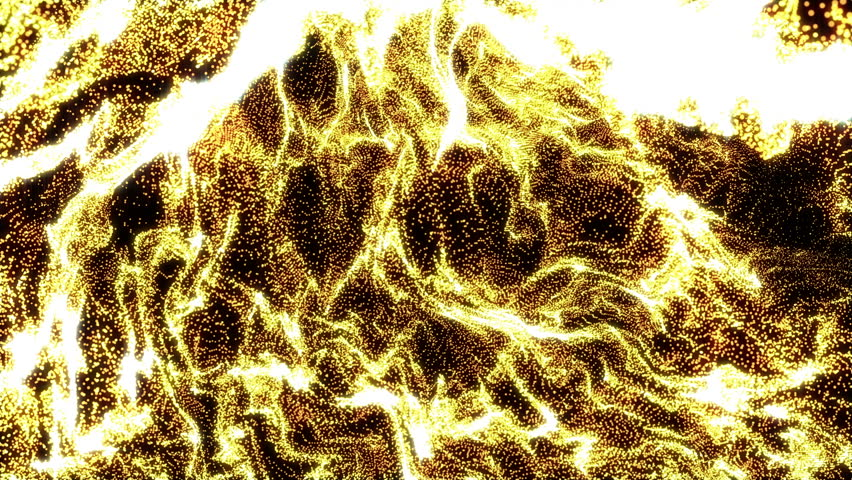 4k Gold Particle seamless background | Shutterstock HD Video #22701556