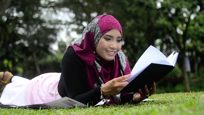 Asian muslim girl