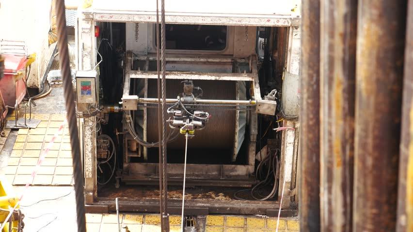 Open Hole Wireline Logging Unit Stock Footage Video (100% Royalty-free)  22799746   Shutterstock