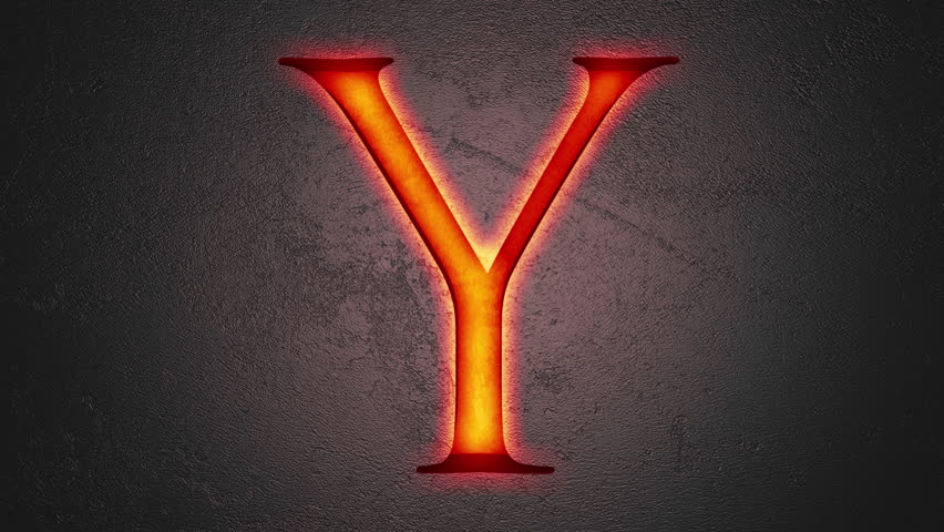 Stock video of engraved letter y shining on stone 22818976 stock video of engraved letter y shining on stone 22818976 shutterstock thecheapjerseys Images