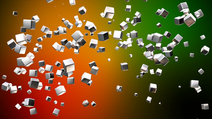 "This Background is called ""Broadcast Flying Hi-Tech Cubes 03"", which is"