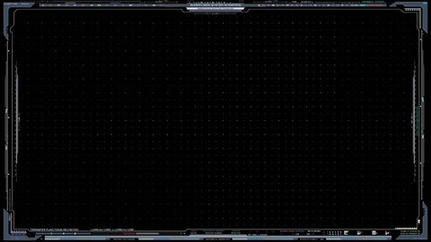 Grid Background, HUD Interface, UI elements, Sci-Fi Frame Grid Backround | 3840x2160 | 0:30 sec| alpha channel |