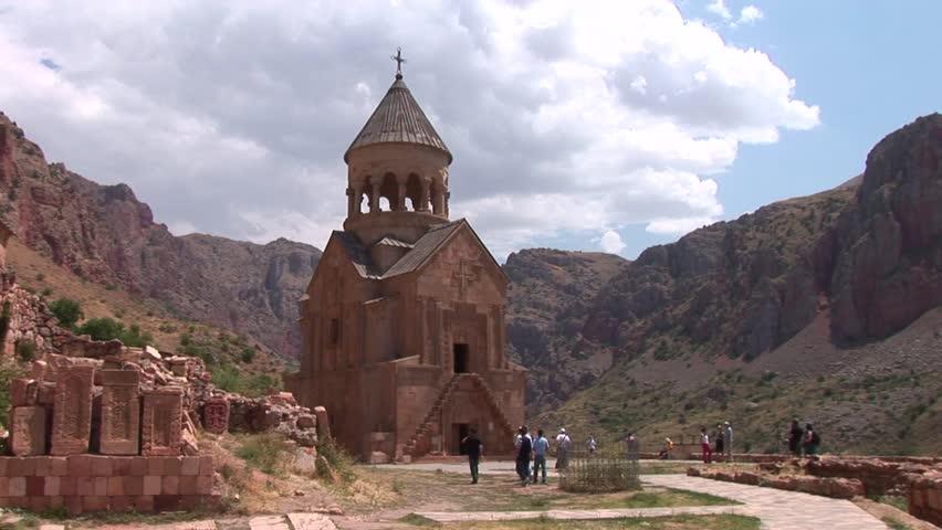 Ancient Armenian Monastery Of Noravanq