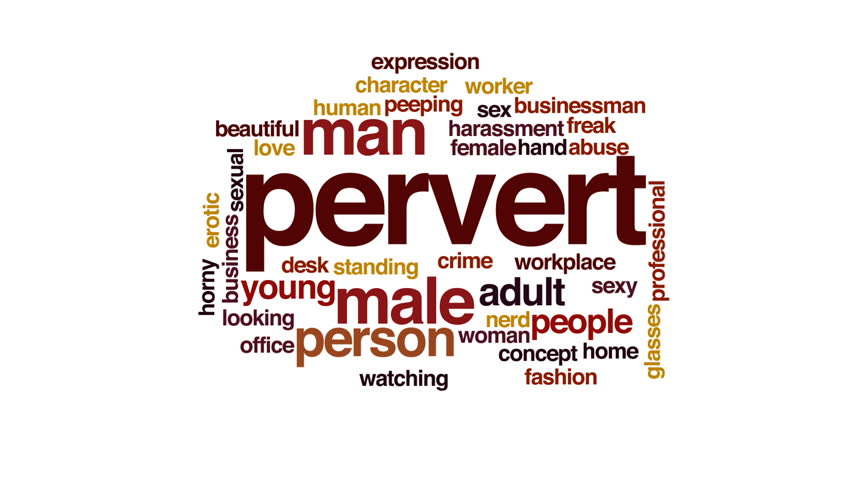 Stock Video Clip Of Pervert Animated Word Cloud Shutterstock