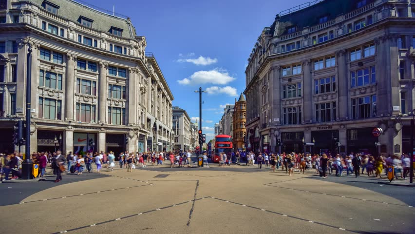 UK, England, London, Oxford Circus | Shutterstock HD Video #22934716
