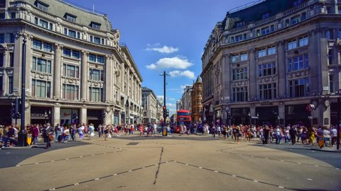 UK, England, London, Oxford Circus