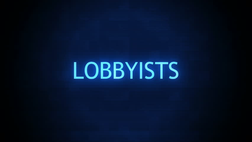 Forboding Political Text - Lobbyists Glitching
