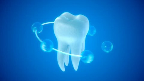 The health of white tooth for tooth care concept with Alpha Channel.