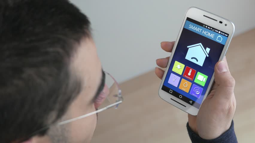 Using A Smartphone To Check On The Electricity Stats Of The House - Height checking app
