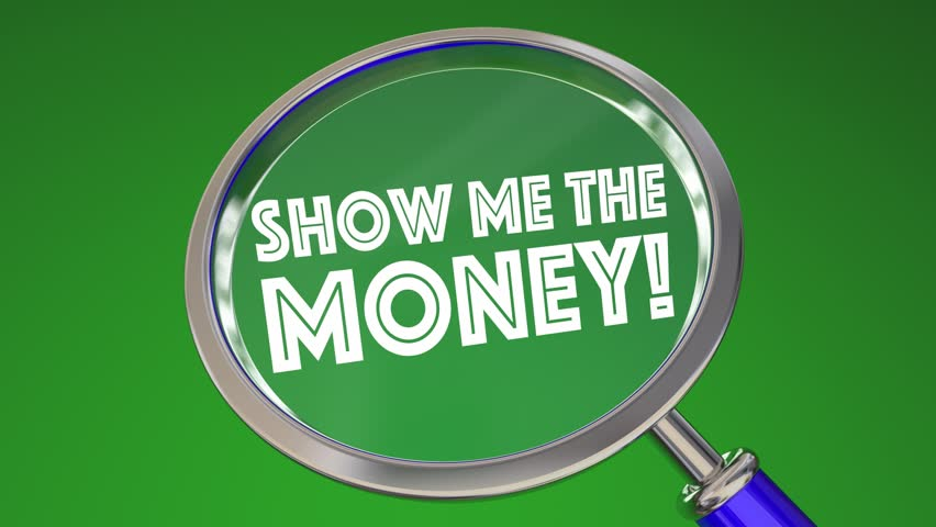 Show Me the Money Magnifying Glass 3d Animation