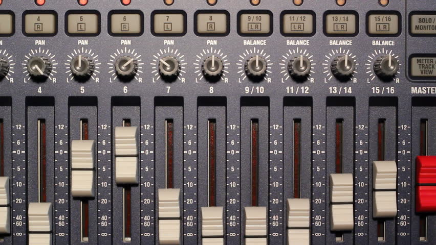 Digital Multitrack Audio Recording Studio Stock Footage Video (100%  Royalty-free) 2314766   Shutterstock