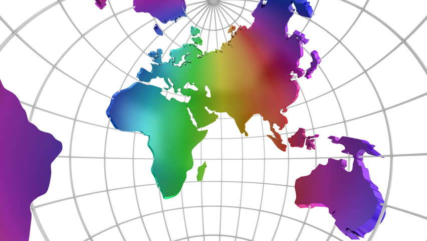 Time zone world time zone world time lapse map of world time zones world map turns into a globe a look inside white background 2 in gumiabroncs Image collections