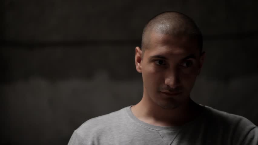 Young man tells something close-up | Shutterstock HD Video #23230636