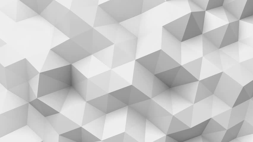 3D Animation - White low poly texture  | Shutterstock HD Video #23264776