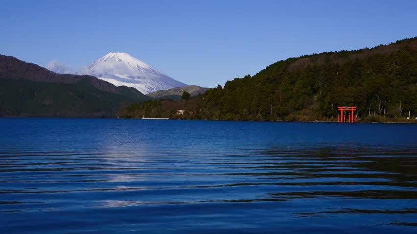 Mt.fuji from hakone   Shutterstock HD Video #23278546