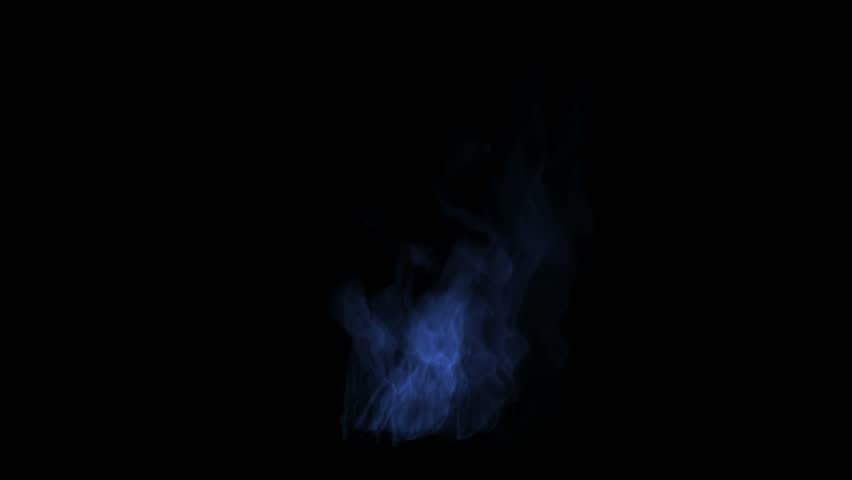 4k Blue fire,flame burning gas light backdrop,energy heat hot passion background.
