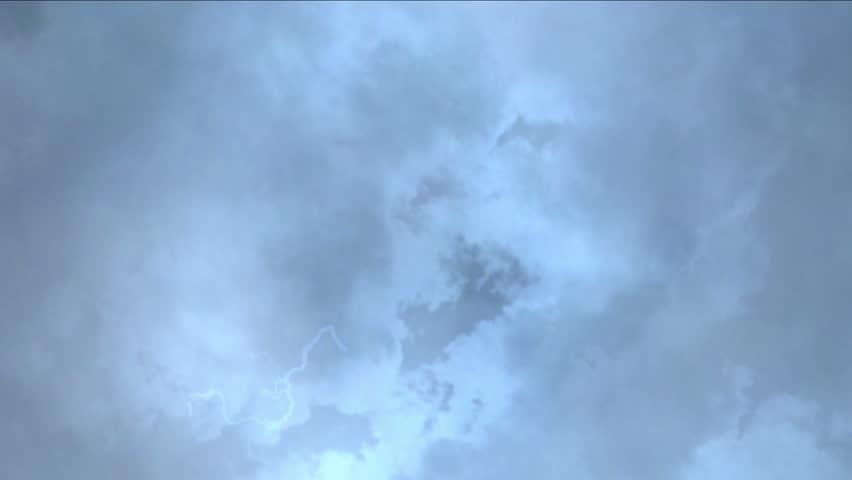 4k Storm clouds,flying mist gas smoke,pollution thunder lightning haze transpiration sky,romantic weather season atmosphere background.