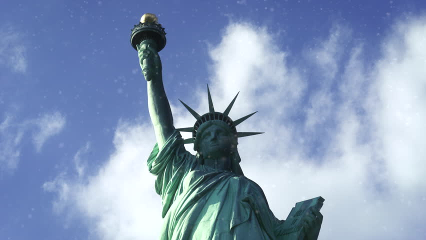 Statue of Liberty medium shot - New York City | Shutterstock HD Video #23642296